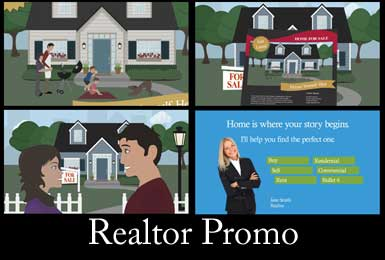 Realtor or Real Estate Business Promo