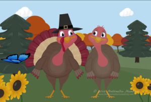 thanksgiving animation